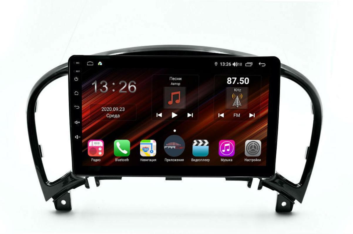 Штатная магнитола FarCar s400 Super HD для Nissan Juke на Android (XH749R) (+ Камера заднего вида в подарок!)