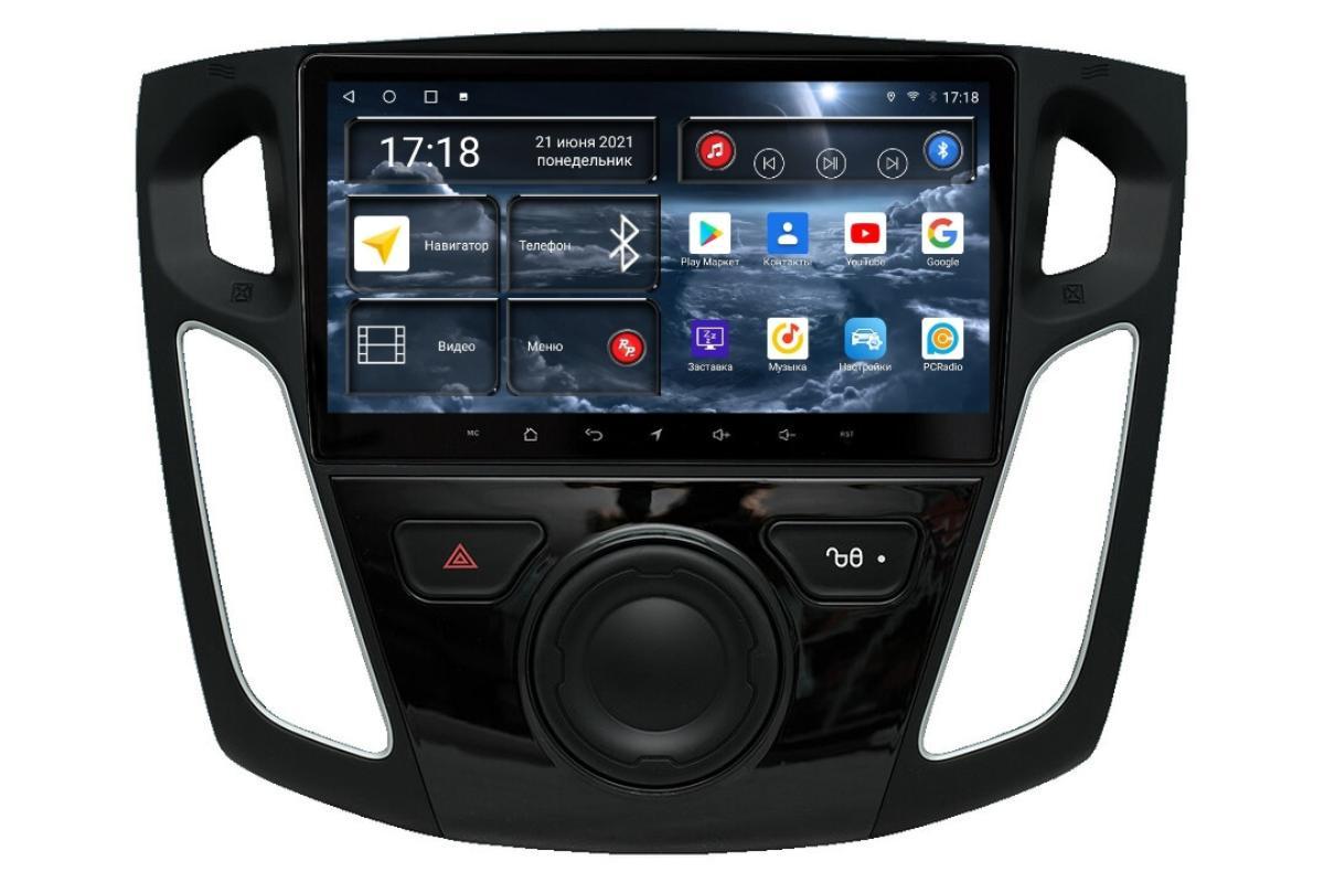 Автомагнитола RedPower 71150 для Ford Focus 3-поколение (01.2010-10.2019) (+ Камера заднего вида в подарок!)