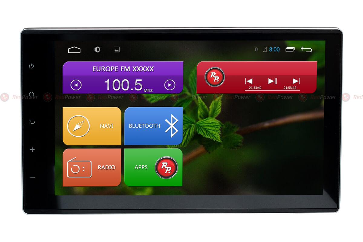 цена на Штатная магнитола Redpower 31186 IPS DSP для Toyota Hilux 2015+ (Android 7) (+ Камера заднего вида в подарок!)
