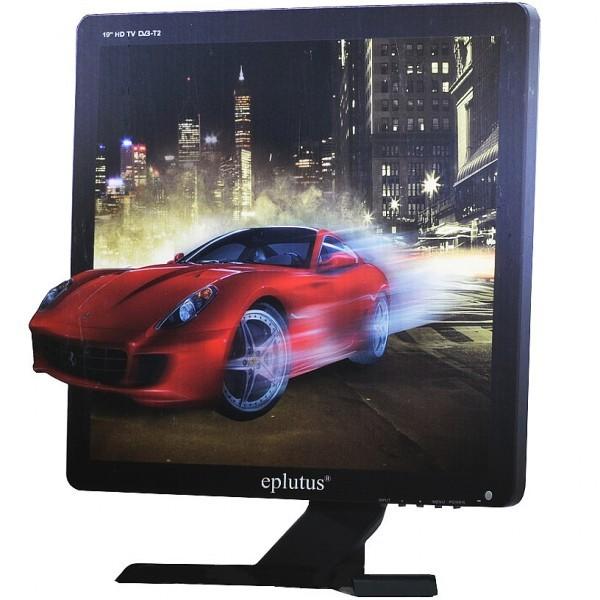 Автомобильный телевизор Eplutus EP-192T (+ Разветвитель в подарок!) автомобильный телевизор eplutus ep 900t