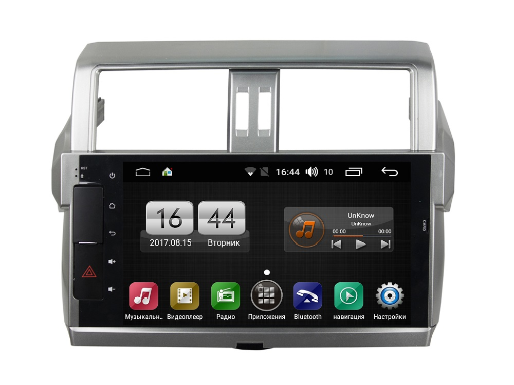 Штатная магнитола FarCar s170 для Toyota PRADO 150 на Android (L531) lsqstar 8 android4 0 capacitive screen car dvd player w gps fm bt wifi swc tv aux for toyota prius