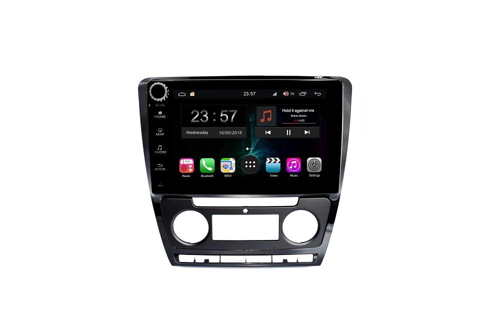 Штатная магнитола FarCar s300-SIM 4G для Skoda Octavia на Android (RG005RB) (+ Камера заднего вида в подарок!)