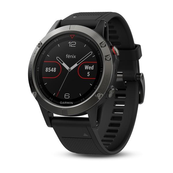 Garmin Fenix 5 Sapphire черные с черным ремешком и HRM-Tri garmin fenix 5 bluetooth smartwatch