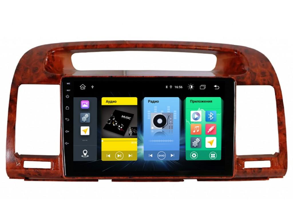 Головное устройство vomi FX430R9-MTK-LTE для Toyota Camry V30 2002-2006 (+ Камера заднего вида в подарок!)