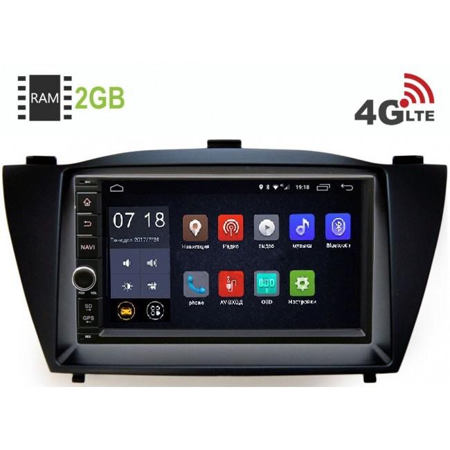 Штатная магнитола LeTrun 1968-RP-HDI35-32 для Hyundai ix35, Tucson II 2011-2015 Android 6.0.1 (4G LTE 2GB) (+ Камера заднего вида в подарок!)