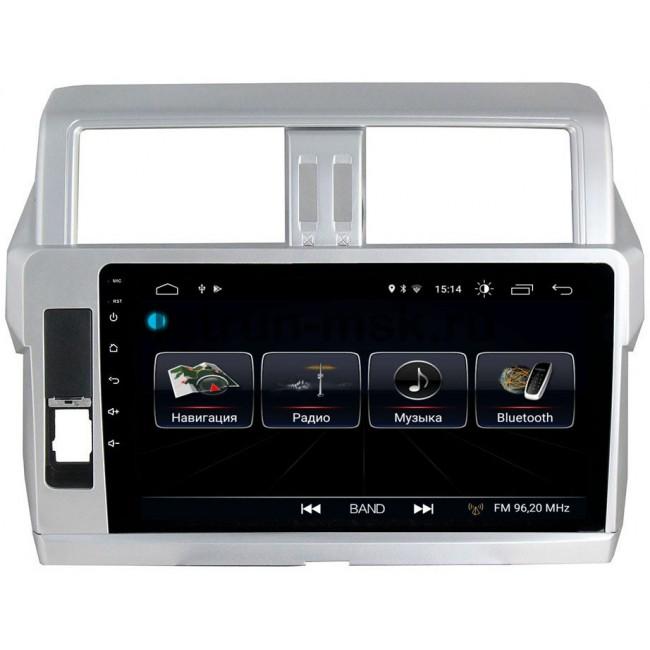 Штатная магнитола LeTrun 1864 для Toyota Land Cruiser Prado 150 2013-2017 Android 8.0.1 MTK-L 2Gb (+ Камера заднего вида в подарок!)