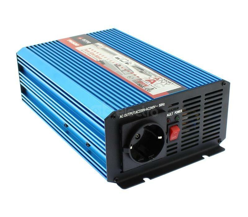 Преобразователь напряжения AcmePower PS600 (реальный синус, 600 Вт)