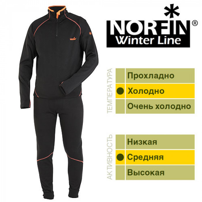 купить Термобелье Norfin WINTER LINE 03 р.L (+ Поливные капельницы в подарок!) по цене 2500 рублей