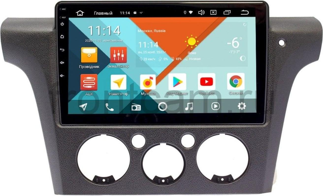 Штатная магнитола Mitsubishi Outlander I (правый руль) Wide Media KS1132QR-3/32 DSP CarPlay 4G-SIM на Android 10 (+ Камера заднего вида в подарок!)