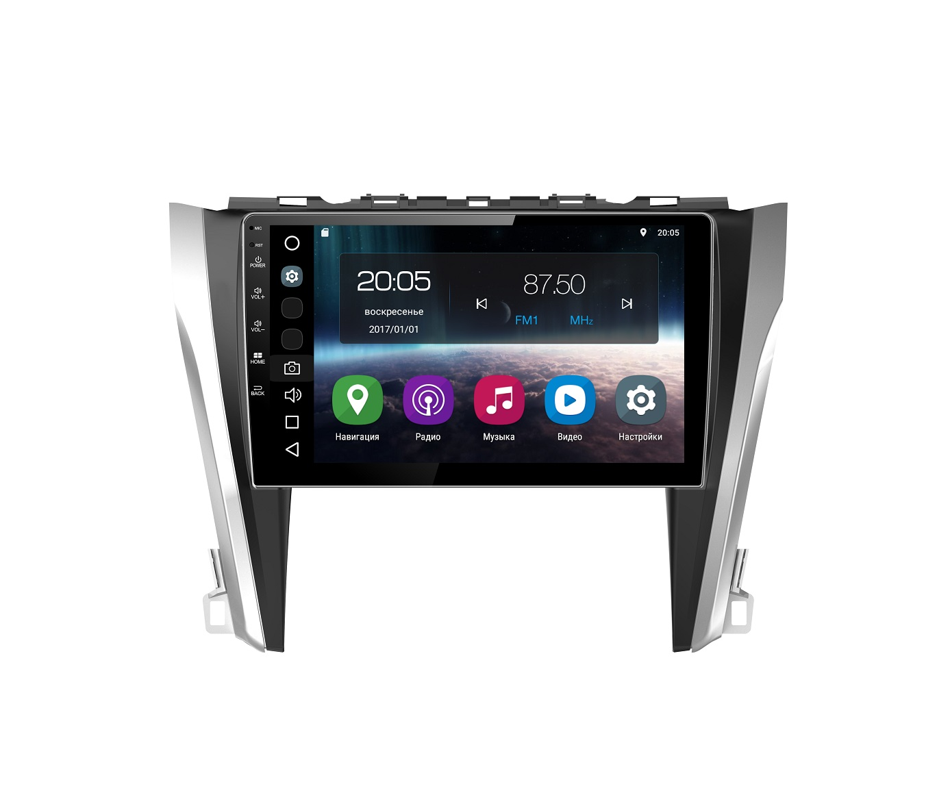 Штатная магнитола FarCar s200 для Toyota Camry 2014+ на Android (V466R)