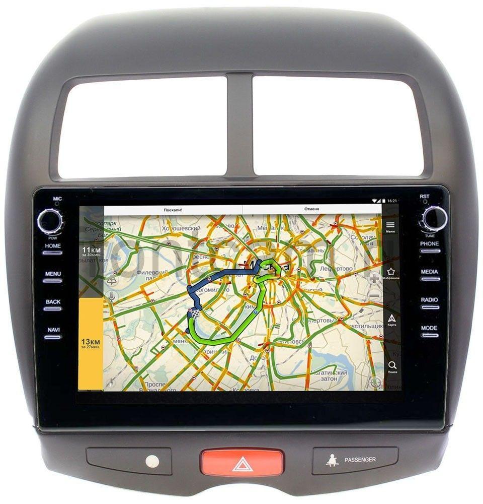 Штатная магнитола LeTrun 3149-1032 для Mitsubishi ASX I 2010-2020 на Android 10 (DSP 2/16 с крутилками) (+ Камера заднего вида в подарок!)