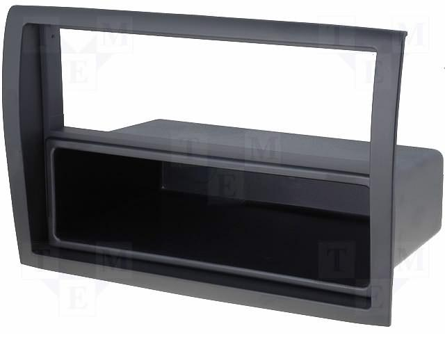 Переходная рамка Intro RFR-N14 для Peugeot Boxer 2/1DIN переходная рамка intro rvl n04 для volvo s60 v70 xc70 04 2 1din
