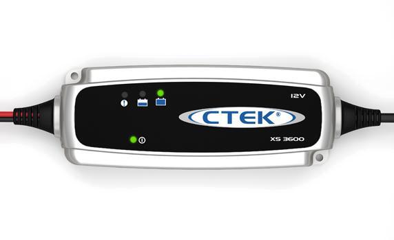 Зарядное устройство CTEK XS 3600 индикатор состояния акб с круглыми клеммами м6 ctek 56 629