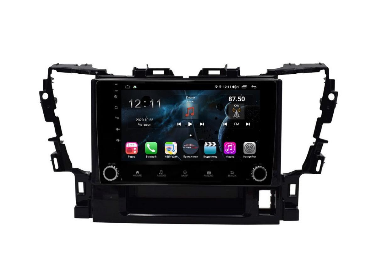 Штатная магнитола FarCar s400 для Toyota Alphard на Android (H564RB) (+ Камера заднего вида в подарок!)