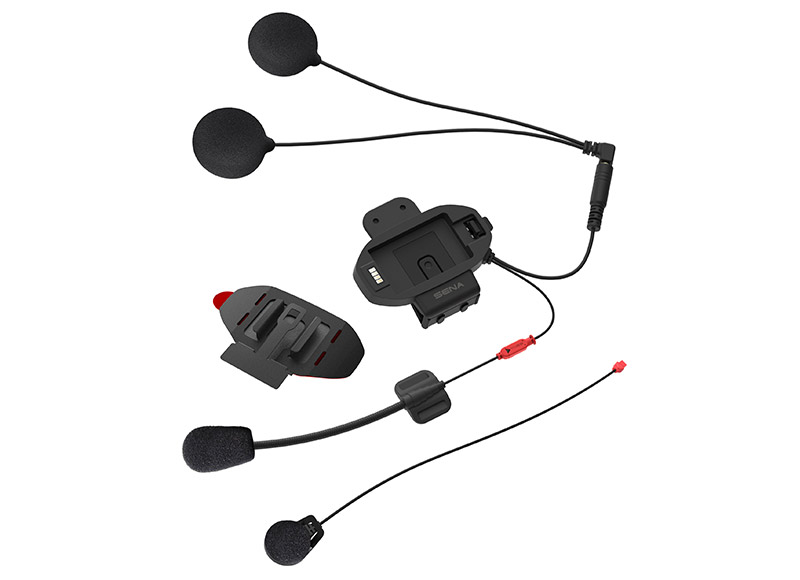 Установочный комплект крепления с микрофоном SF-A0202 (для SENA SF1/2/4), кт (+ Набор для ухода за транспортом в подарок!)