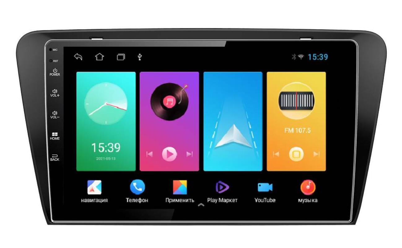 Штатная магнитола FarCar для Skoda Octavia A7 на Android (D483M)