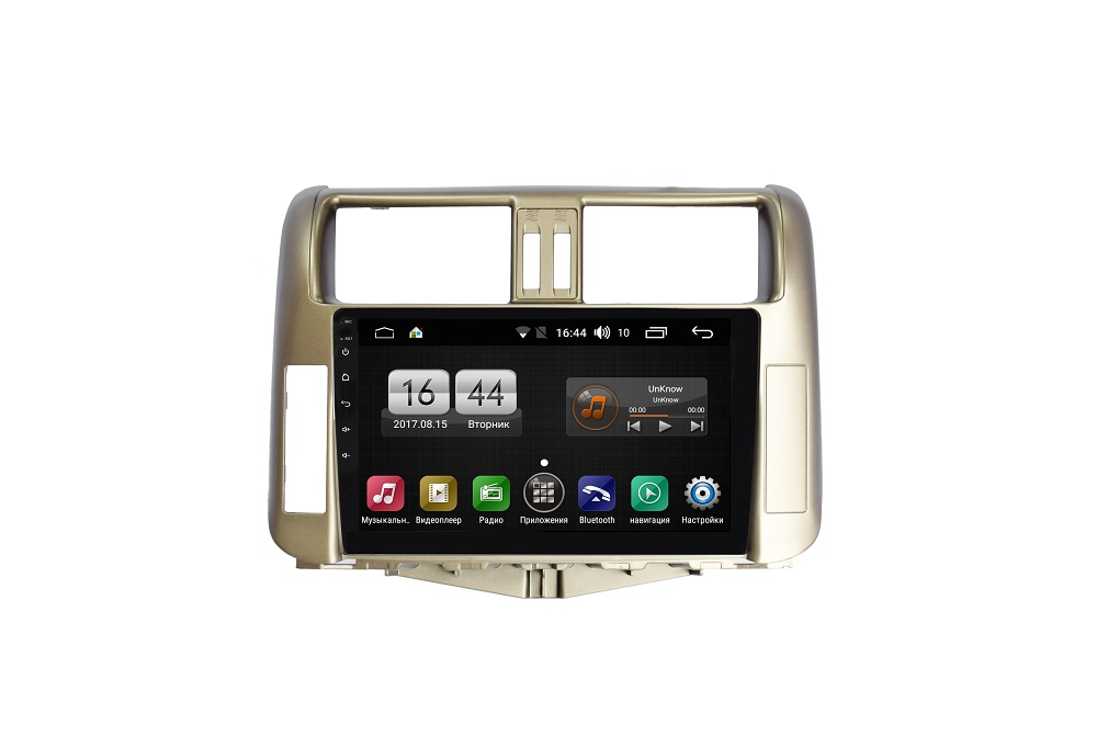 Штатная магнитола FarCar s175 для Toyota PRADO на Android (L065R) штатная магнитола carmedia mkd 1040 dvd toyota land cruiser prado 150 2013 2016 поддержка кругового обзора