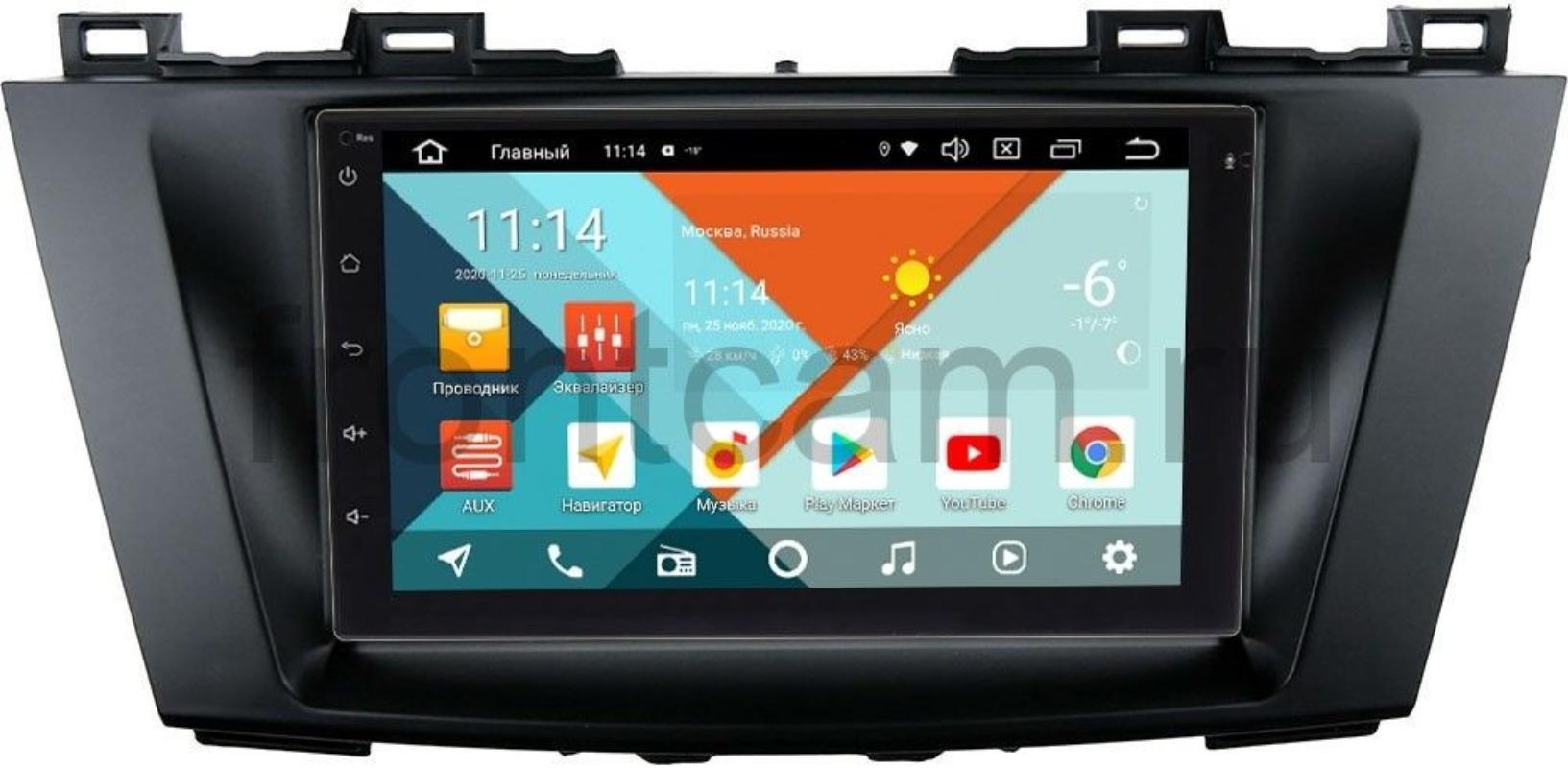Магнитола для Mazda 5 II (CW), Premacy III (CW) 2010-2017 Wide Media KS7001QR-3/32-RP-MZ5B-150 на Android 10 (DSP CarPlay 4G-SIM) (+ Камера заднего вида в подарок!)