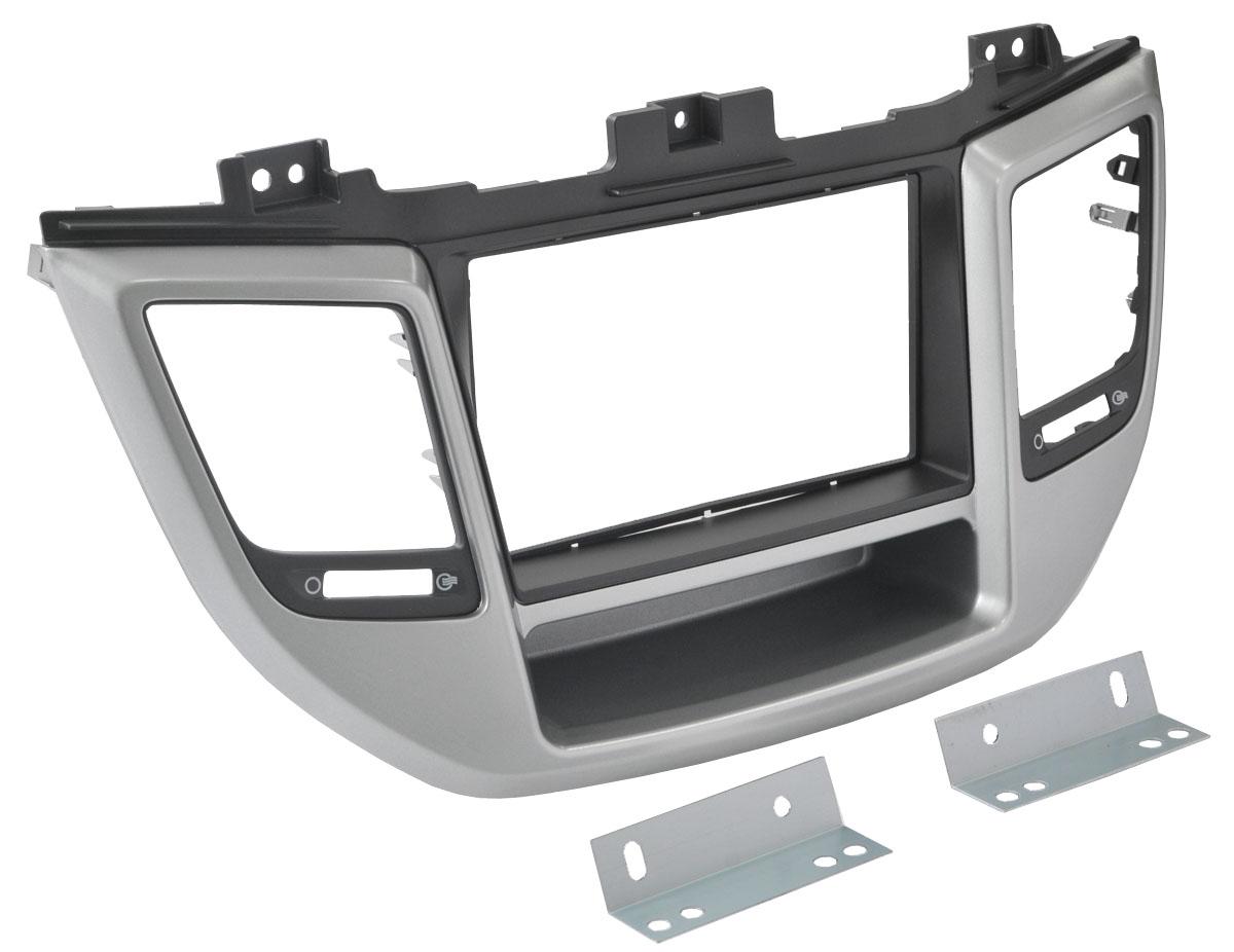Переходная рамка Intro RHY-N49 для Hyundai Tucson 2015+ переходная рамка incar rhy n51 для hyundai elantra крепеж