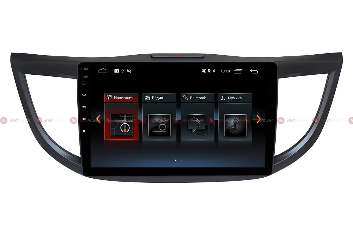 Автомагнитола Redpower 30111 IPS Honda CRV (2012+) Android 8.1 (+ Камера заднего вида в подарок!)