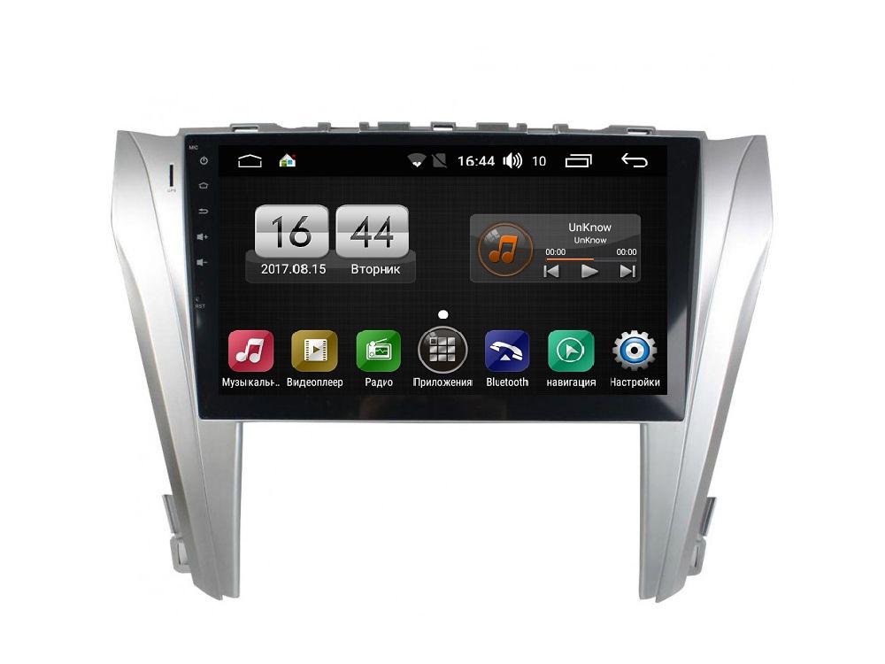 Штатная магнитола FarCar s170 для Toyota Camry 2014+ на Android (L466) штатная магнитола avis avs090an для toyota camry vii xv50 2014 005