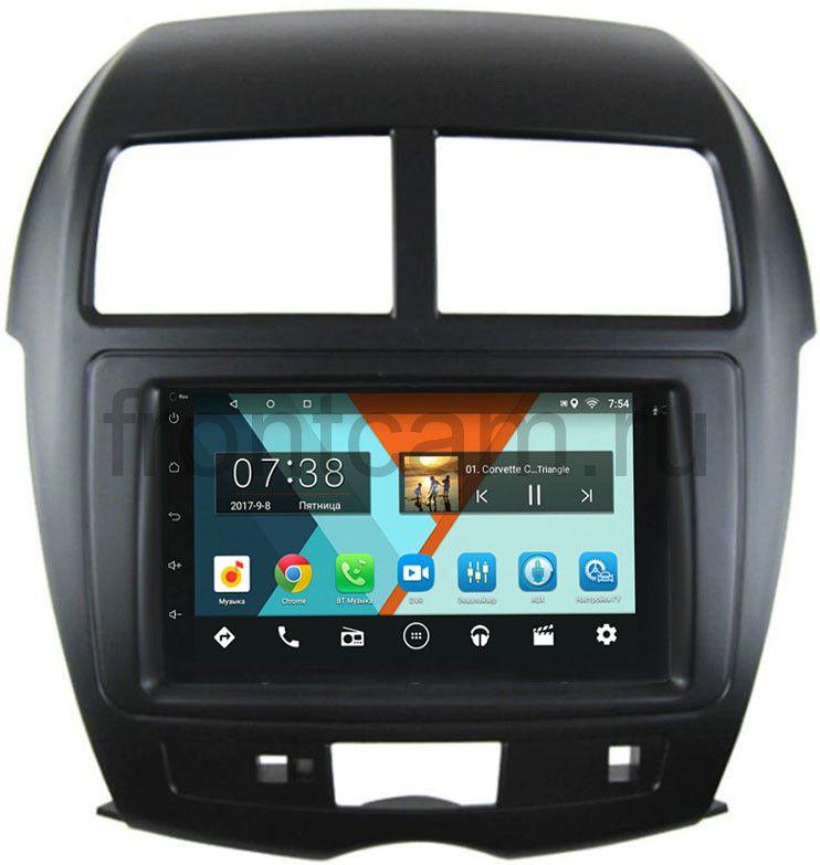 Штатная магнитола Mitsubishi ASX I 2010-2018 Wide Media MT7001-RP-MMASX-69 на Android 7.1.1 (+ Камера заднего вида в подарок!) штатная магнитола mitsubishi asx i 2010 2018 wide media mt7001 rp mmasx 69 на android 7 1 1 камера заднего вида в подарок