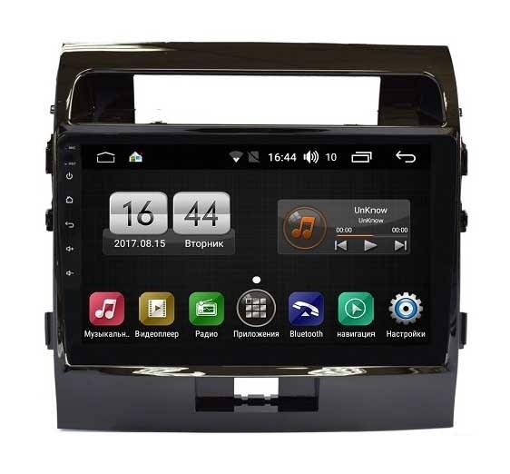 Штатная магнитола FarCar s195 для Toyota Land Cruiser 200 2012-2015 на Android (LX381R) (+ Камера заднего вида в подарок!)