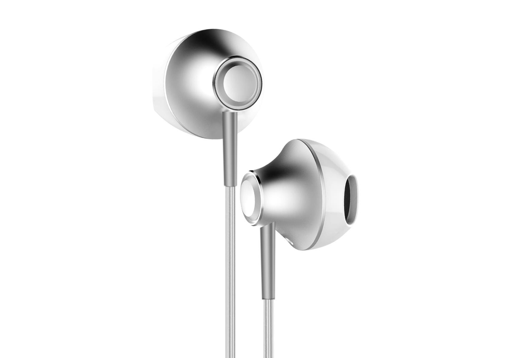 Наушники Baseus iP Digital Earphone P06 Silver