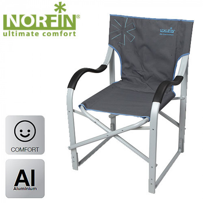 Кресло складное Norfin MOLDE NFL алюминиевое набор для пикника norfin eslov nfl 40105