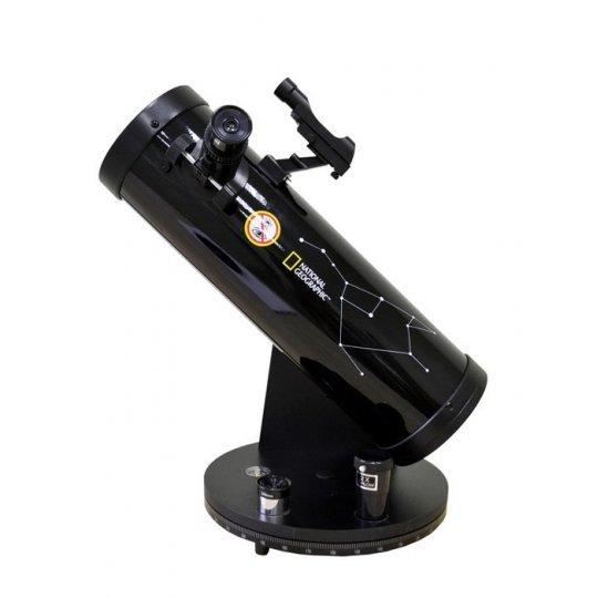 Телескоп Bresser National Geographic 114/500 на монтировке Добсона (+ Книга знаний «Космос. Непустая пустота» в подарок!) стоимость