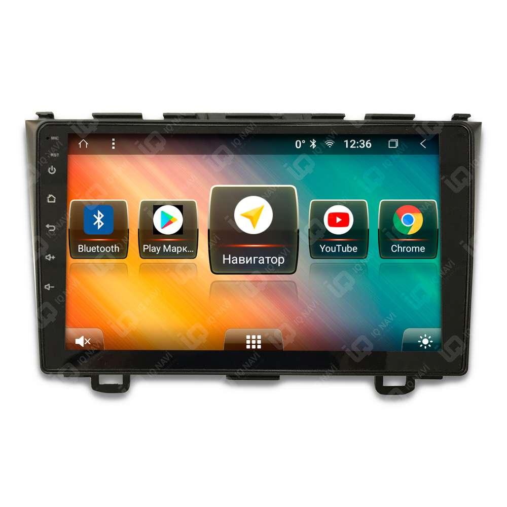 Автомагнитола IQ NAVI TS9-1506PFHD Honda CR-V III (2007-2012) 9 DSP (4 CH) + 4G SIM (+ Камера заднего вида в подарок!)