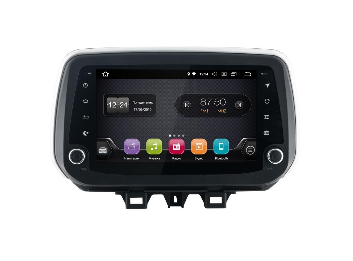 Штатная магнитола InCar TSA-2439 для Hyundai Tucson (2018+) (Android 8.1) (+ Камера заднего вида в подарок!)