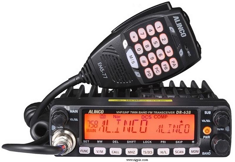 Автомобильная рация ALINCO DR-638
