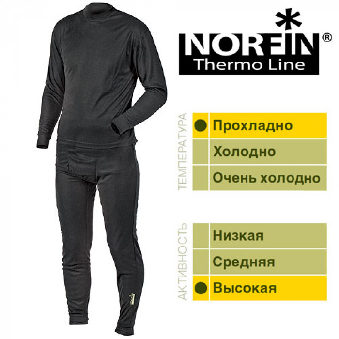 Термобелье Norfin THERMO LINE B 01 р.S мужское нижнее белье