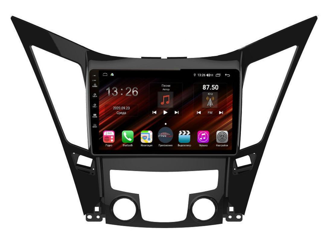 Штатная магнитола FarCar s400 Super HD для Hyundai Sonata на Android (XH794R) (+ Камера заднего вида в подарок!)
