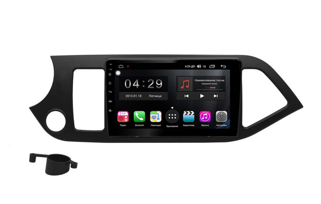 Фото - Штатная магнитола FarCar s300-SIM 4G для KIA Picanto на Android (RG217R) (+ Камера заднего вида в подарок!) штатная магнитола farcar s300 sim 4g для mercedes r class на android rt215r камера заднего вида в подарок