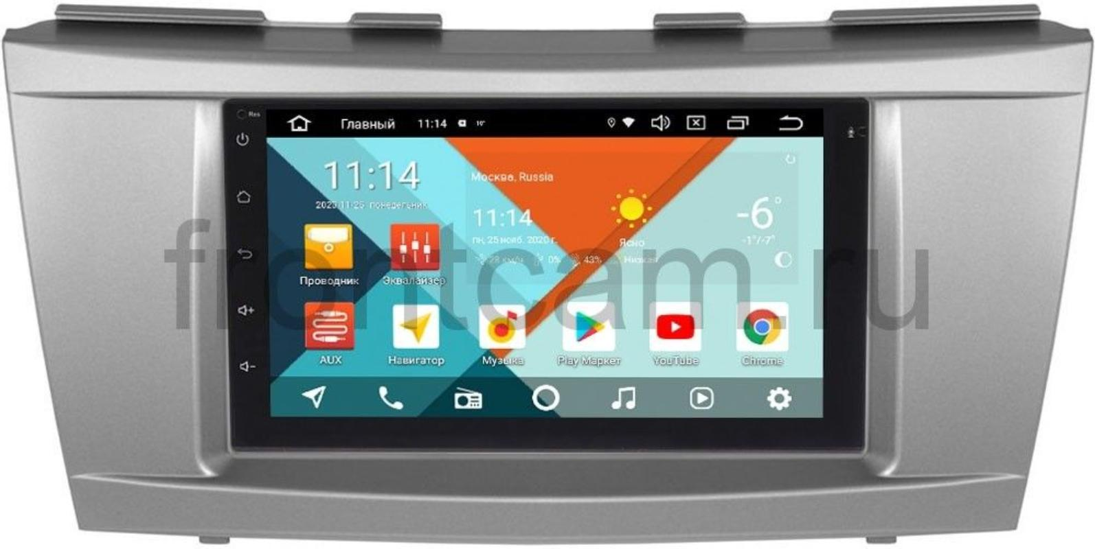 Магнитола для Toyota Camry V40 2006-2011 Wide Media KS7001QR-3/32-RP-TYCA4XS-178 на Android 10(DSP CarPlay 4G-SIM) (+ Камера заднего вида в подарок!)