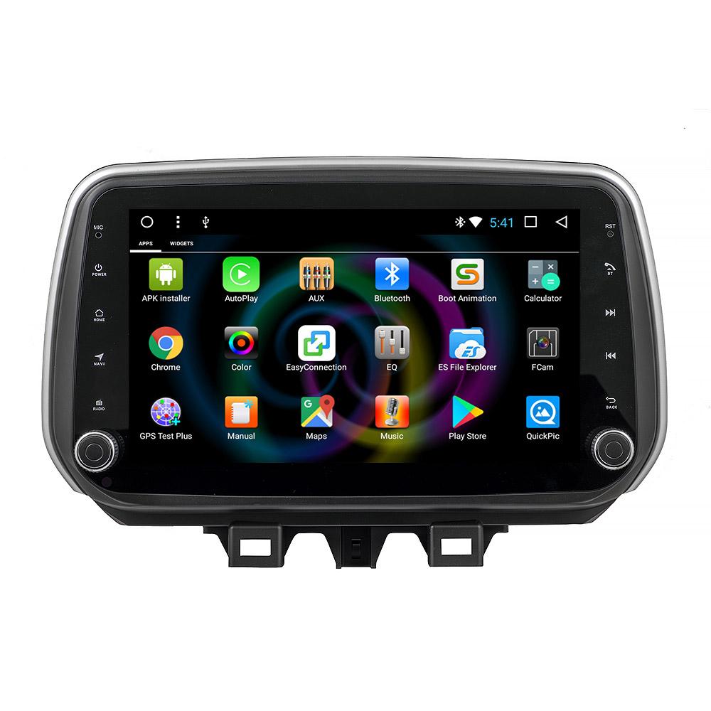 Штатное головное устройство MyDean B801 для Hyundai Tucson (2018-) (+ Камера заднего вида в подарок!) штатное головное устройство mydean b546 для hyundai tucson 2015 2018 камера заднего вида в подарок