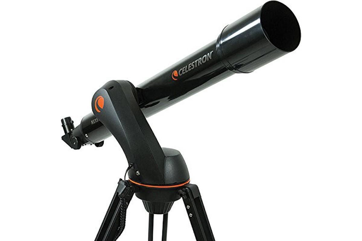Телескоп Celestron NexStar 90 GT celestron amoeba синий