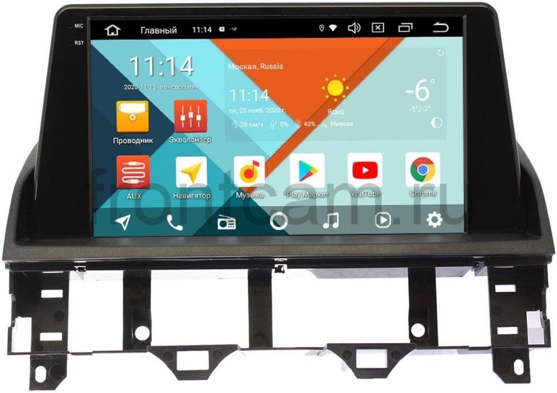 Штатная магнитола Mazda 6 (GG) 2002-2007 Wide Media KS1101QM-2/32 DSP CarPlay 4G-SIM Android 10 (+ Камера заднего вида в подарок!)