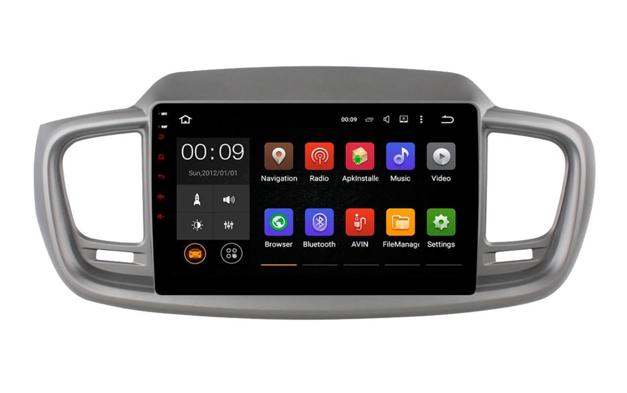 Штатная магнитола Roximo 4G RX-2317 для KIA Sorento 3 Prime (+ Камера заднего вида в подарок!)