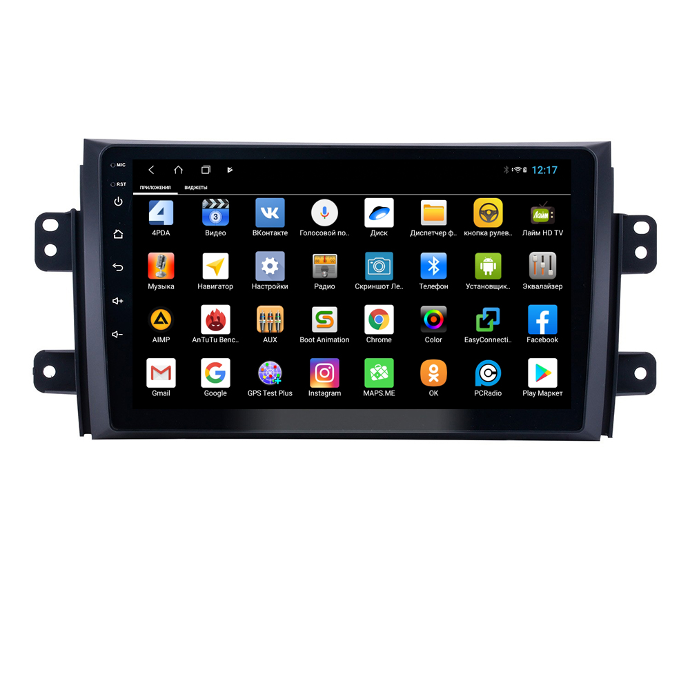 Штатная магнитола Parafar для Suzuki SX-4 (2006-2014) Android 8.1.0 (PF124XHD) (+ Камера заднего вида в подарок!)