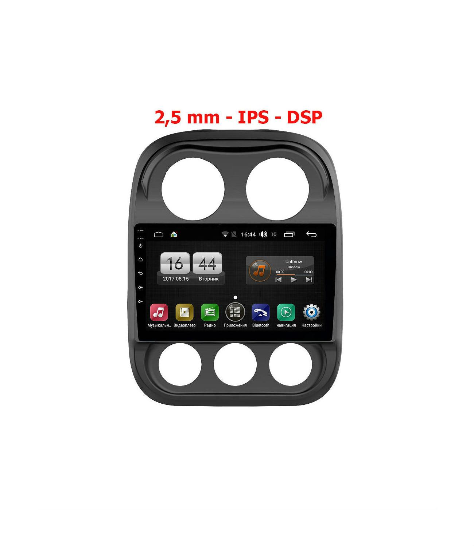 Штатная магнитола FarCar s195 для Jeep Compass на Android (LX1078R) (+ Камера заднего вида в подарок!)