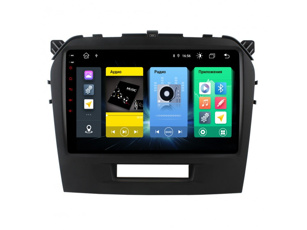 Головное устройство vomi FX345R9-MTK-LTE для Suzuki Vitara 2015+ (+ Камера заднего вида в подарок!)