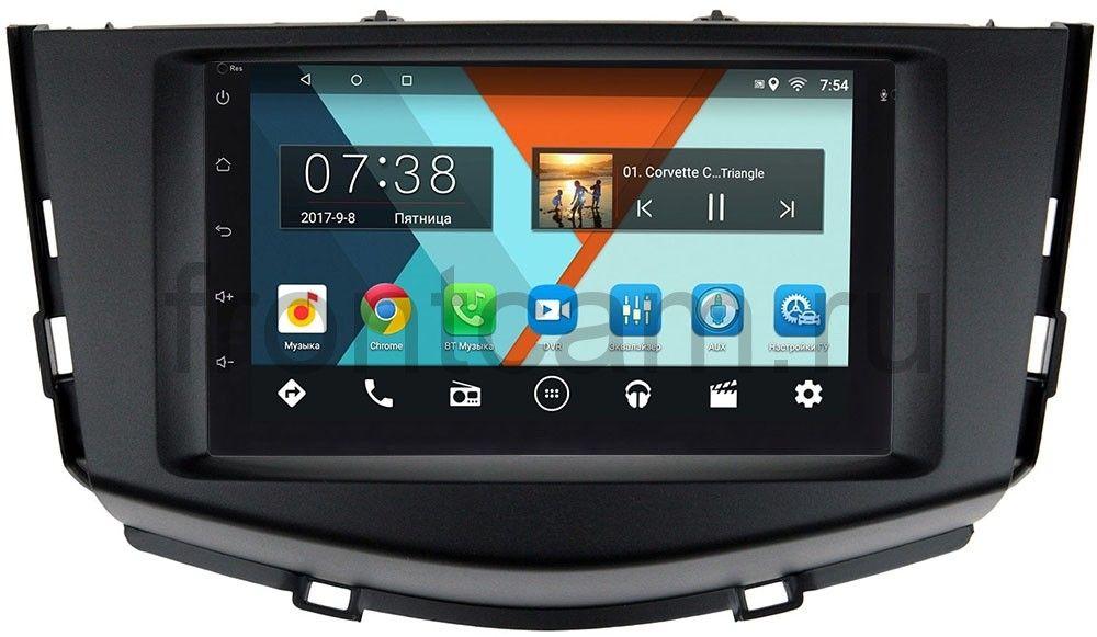 Штатная магнитола Wide Media MT7001-RP-LFX60-17 для Lifan X60 I 2012-2016 на Android 7.0.1 (+ Камера заднего вида в подарок!)