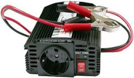 Преобразователь напряжения AcmePower DS400 (10-15В > 220В, 400 Вт,USB) (+ Салфетки из микрофибры в подарок) фото