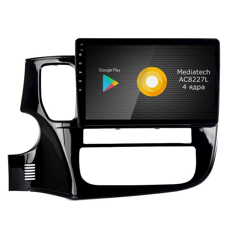 Штатная магнитола Roximo S10 RS-2607 для Mitsubishi Outlander 3 (Android 8.1) (+ Камера заднего вида в подарок!)
