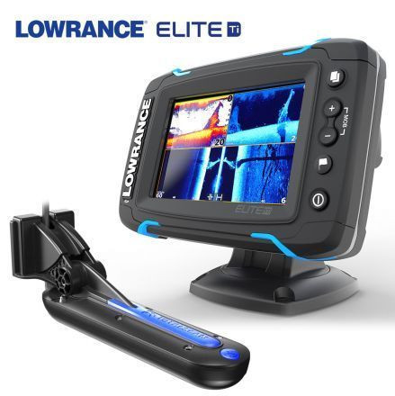 Lowrance Elite-5Ti Mid/High/TotalScan