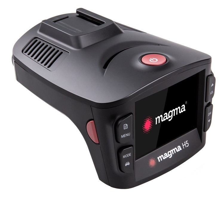 Гибридный видеорегистратор Magma H5 (+ Антисептик-спрей для рук в подарок!)
