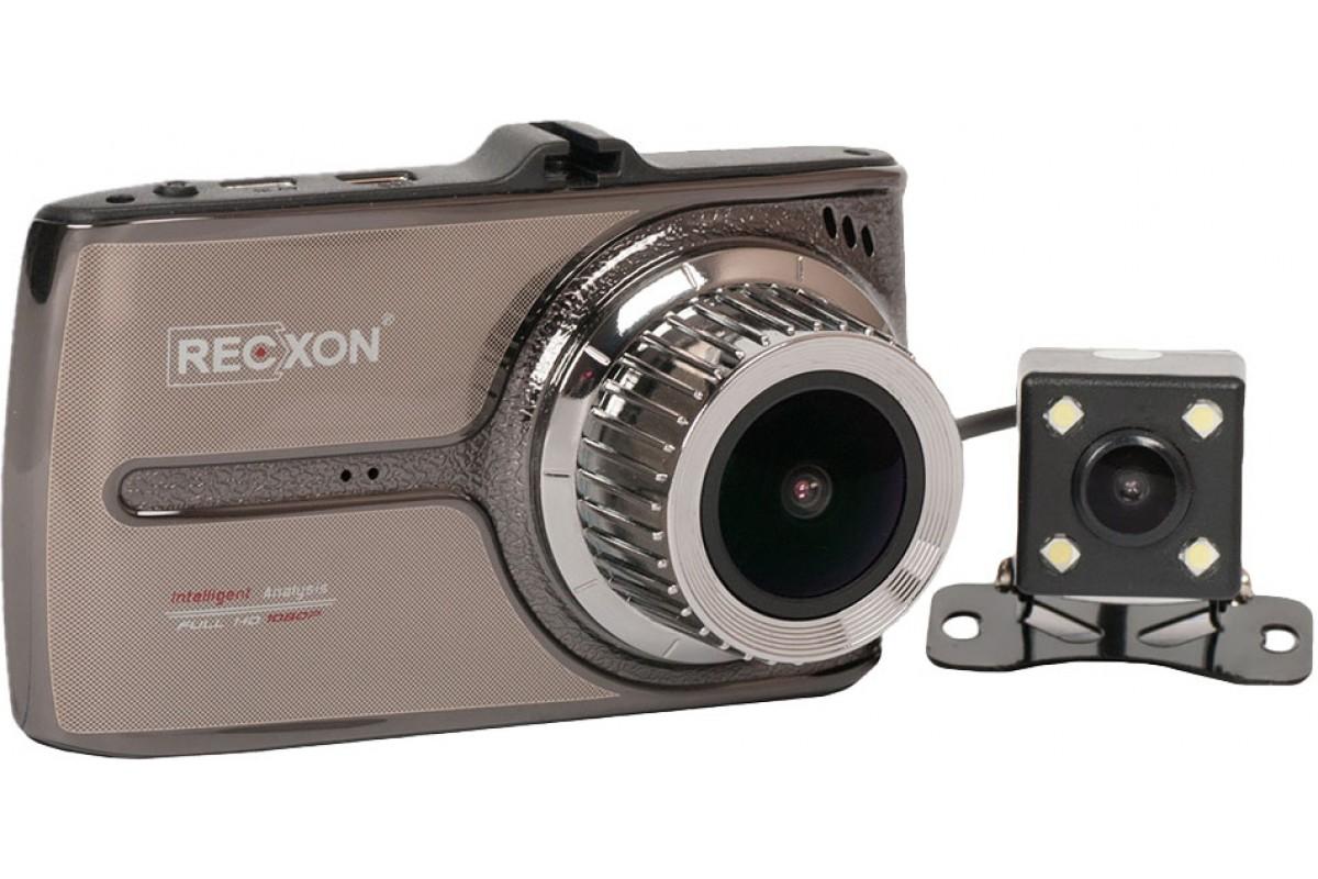 Видеорегистратор с сенсорным дисплеем RECXON Recxon QX-5 видеорегистратор recxon qx 4